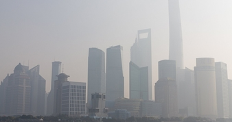 Smaller heavy smog in the lujiazu 009